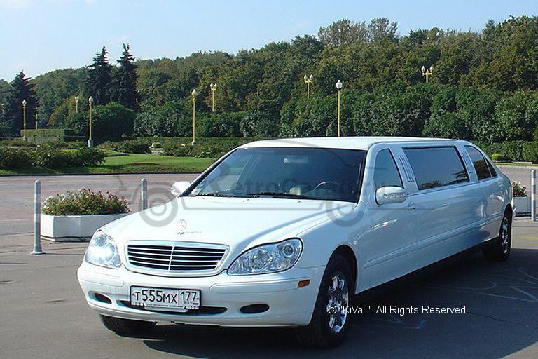 лимузин мерседес пульман 220 на свадьбу