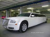 Аренда лимузина Крайслер 300С - Chrysler 300C long Москва- кивал
